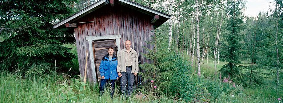 Ruovesi P40, Martina ja Tapio. 2012 © Tapio Heikkilä / Visuaalinen maisemaseuranta/ MTT:n arkisto